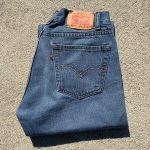 Vintage Levi's 505 Mid Rise Mom Jean